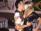 Iris Stefanelli comenta pegação com Mazzafera: 'Não foi beijo, foi técnico'