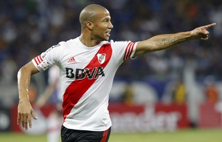 Sánchez River Plate (Foto: Washington Alves / Reuters)