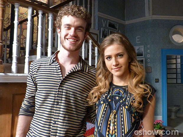 Hanna Romanazzi e Vitor Thiré shippam Sofidney <3 (Foto: Malhação/ TV Globo)