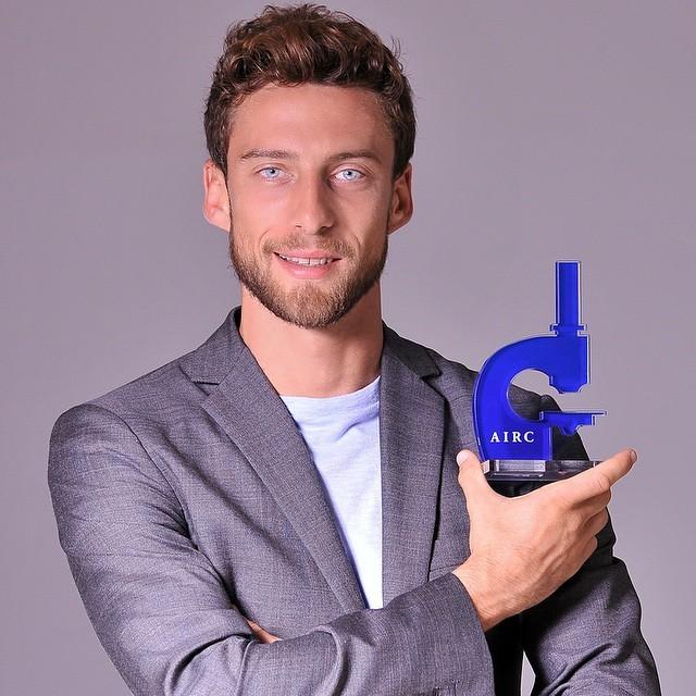 Marchisio faz campanha para entidade que luta contra o câncer (Foto: Reprodução/ instagram)
