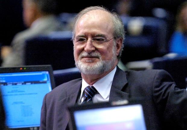 O ex-governador de Minas Gerais e ex-senador do PSDB, Eduardo Azeredo (Foto: Waldemir Barreto/Agência Senado)