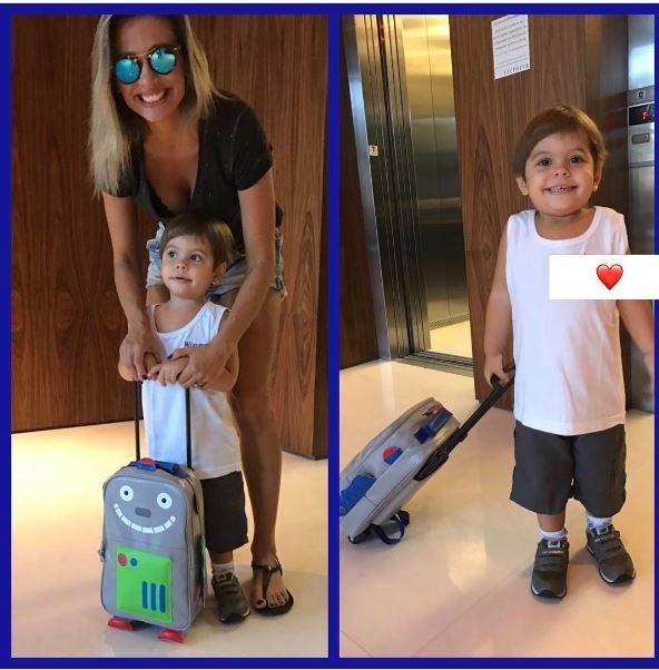 Luisa Mell e o filho (Foto: Instagram / Reprodução)