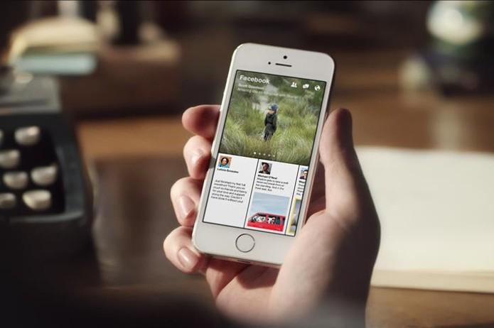 Paper será lançado no dia 3 de fevereiro apenas para aparelhos iOS dos Estados Unidos (Foto: Divulgação/Facebook)