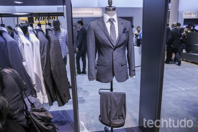 Smart Suit (Foto: Marlon Câmara/TechTudo)