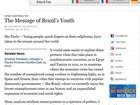 Protestos no Brasil não são rejeição à política, diz Lula no 'NY Times'