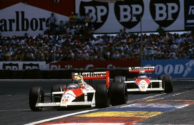Senna e Prost formaram o time dos sonhos em 1988 e 1989 (Foto: Divulgação)