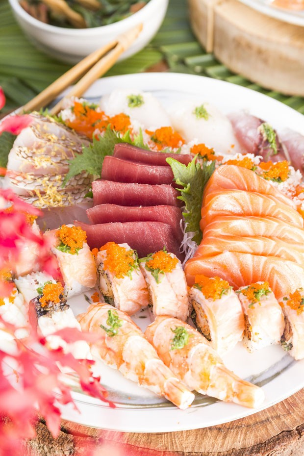 Como servir comida japonesa em casa, por Vamos Receber (Foto: DOUGLAS DANIEL)