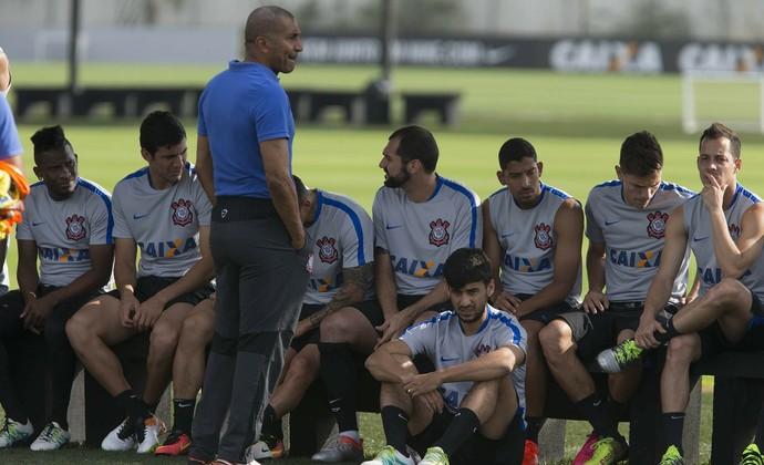 Corinthians treino (Foto: Daniel Augusto Jr /  Agência Corinthians)
