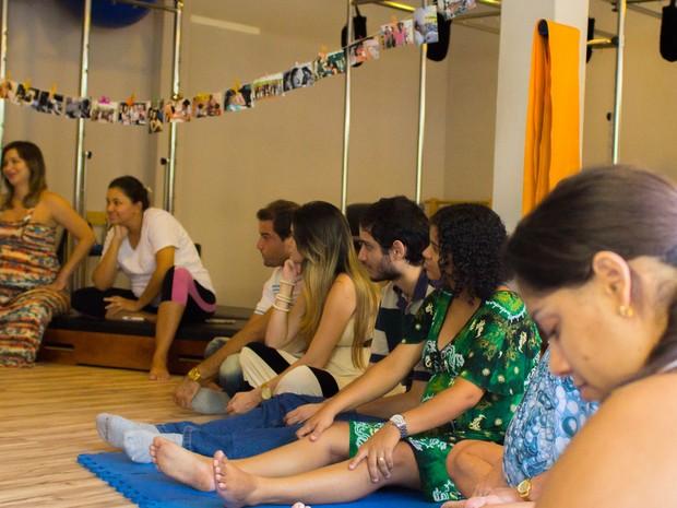 Grupo de apoio para mulheres sobre parto e maternagem na Paraíba (Foto: Gestar & Maternar / Heloá Aires)