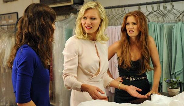 Regan (Kirsten Dunst), Katie (Isla Fisher) e Gena (Lizzy Caplan) eram as garotas mais populares da escola (Foto: Divulgação/Reprodução)