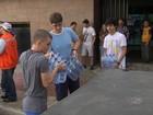 Estudantes se reúnem para levar água a Irauçuba, interior do Ceará
