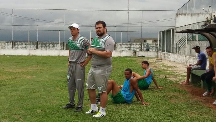 Fernando Tonet técnico do Alecrim (Foto: Diógenes Baracho/Divulgação)