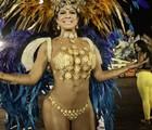 Madrinha da Tatuapé ousa com tapa-sexo  de R$ 20 mil (Caio Kenji/G1)