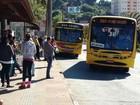 Motoristas de ônibus em São Roque fazem paralisação 'relâmpago'