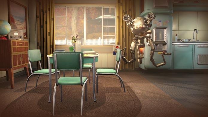 Fallout combina tecnologia moderna com o charmoso visual da década de 50 (Foto: Divulgação/Steam)