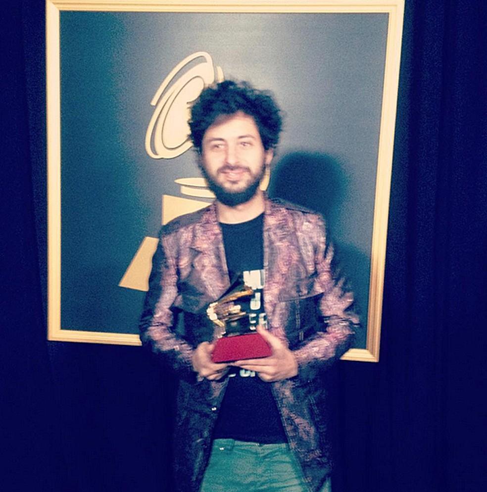 Iam Rammil dividiu o Grammy Latino de Melhor Álbum de Rock em Língua Portuguesa com a Scalene (Foto: Arquivo Pessoal)