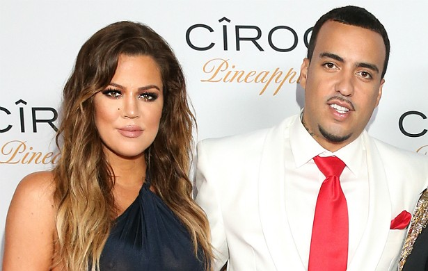 Depois de se separar do jogador de basquete Lamar Odom em 2013, a socialite Khloé Kardashian começou a namorar com o rapper French Montana no início de 2014. Eles chegaram a romper, mas voltaram e estão firmes e fortes desde novembro. (Foto: Getty Images)