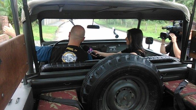 Jeep tour é opção de aventura no Vale (Foto: RBS TV/Divulgação )