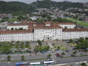 Santa Casa de Santos (Foto: Divulgação/Prefeitura de Santos)