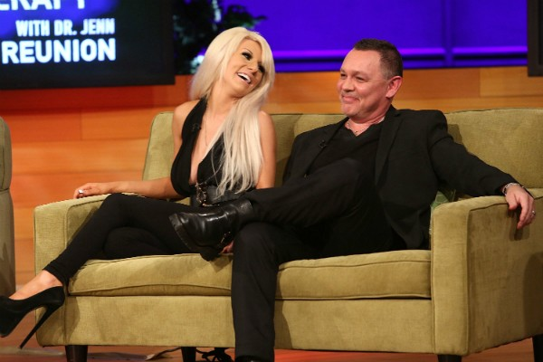 Courtney Stodden e Doug Hutchinson (Foto: Getty Images)