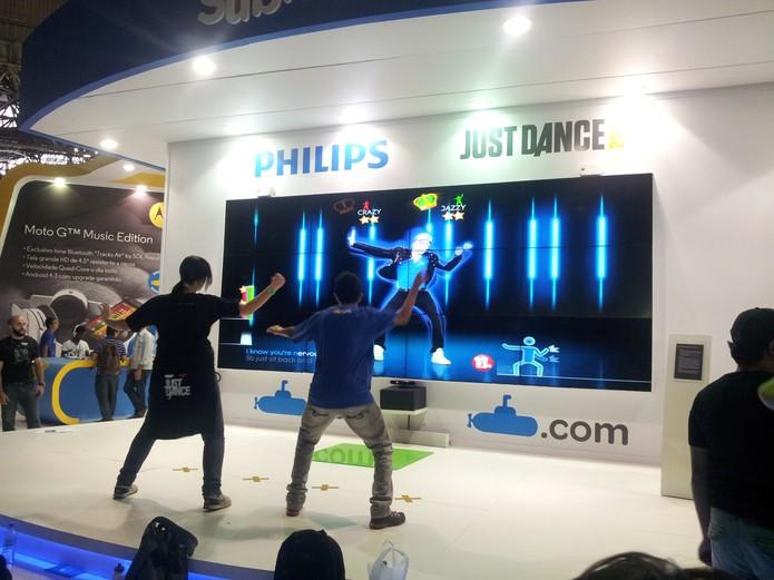 Campeonato de Just Dance reuni dezenas de participantes (Foto: TechTudo/Paulo Vasconcellos) (Foto: Campeonato de Just Dance reuni dezenas de participantes (Foto: TechTudo/Paulo Vasconcellos))
