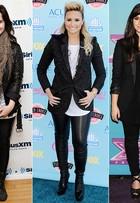 Pretinho nada básico! Veja como Demi Lovato usa sua cor preferida