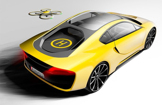 Rinspeed terá esportivo híbrido autônomo na CES (Foto: Divulgação)