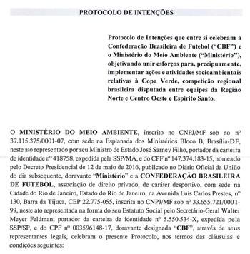 CBF, protocolo de intenções, Copa Verde (Foto: Reprodução)