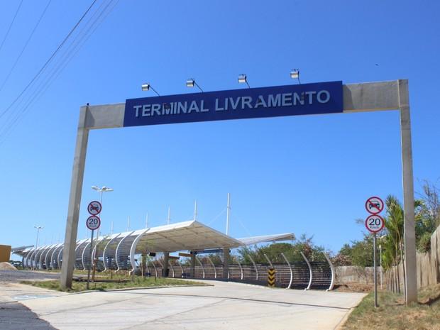 Terminal ja inaugurado na Zona Sudeste de Teresina (Foto: Beto Marques/G1)