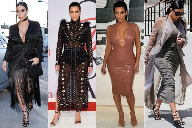 Kim Kardashian (Foto: X17/Agência - Agência AFP- Agência Getty Images - AKM-GSI / AKM-GSI)