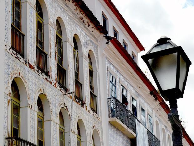 Centro Histórico de São Luís (Foto: Maurício Araya / G1)