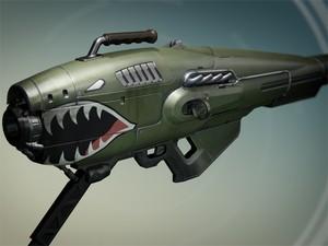 'A dragon's breath', uma das novas armas exóticas da expansão de 'Destiny' (Foto: Divulgação/Bungie)