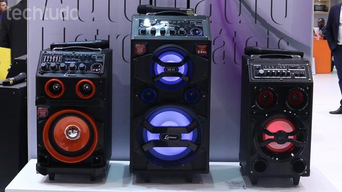Amplificador pode ficar a 20 metros de distância (Foto: Nicolly Vimercate/TechTudo)