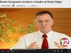 Justiça determina que Vidigal retire de site vídeo com governador do ES