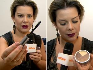 Fernanda Souza: paixão por make (Foto: Reprodução)