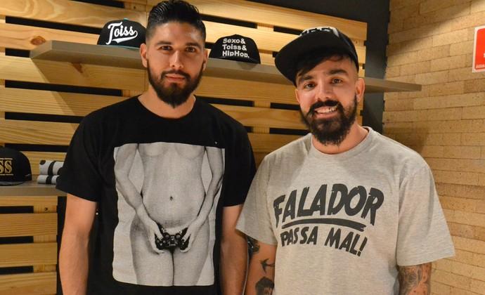 0c5d4146b3 Efeito Neymar  Amigos criam marca de roupas com gíria usada pelo craque