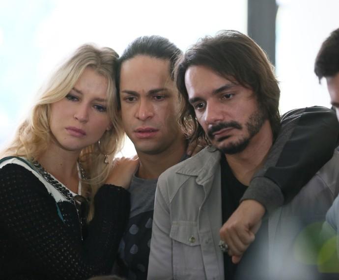 Rhaisa Batista, Rainer Cadete e João Cunha também participaram da sequência (Foto: Isabella Pinheiro/Gshow)