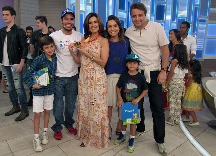 Fátima Bermandes, Daniel Dias e outros convidados (Foto: Melina Mantovani/ Gshow)