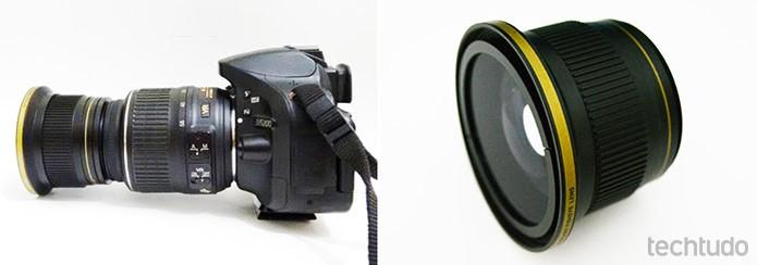 Acessórios não recomendados pelos fabricantes podem danificar as lentes ou a câmera (Foto: Adriano Hamaguchi/TechTudo)