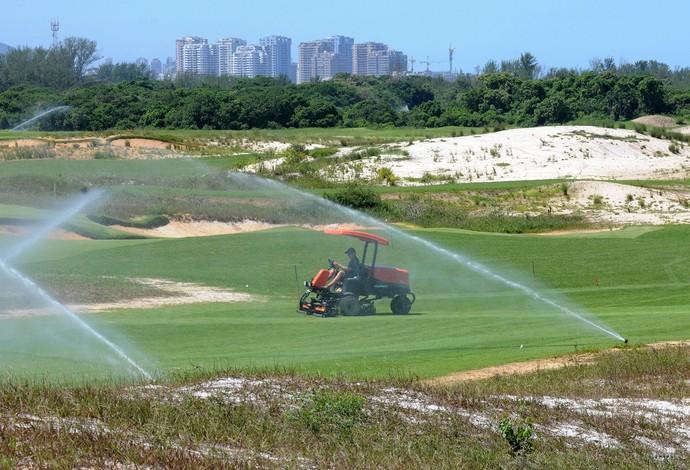 Campo de Golfe Olimpico (Foto: André Durão)
