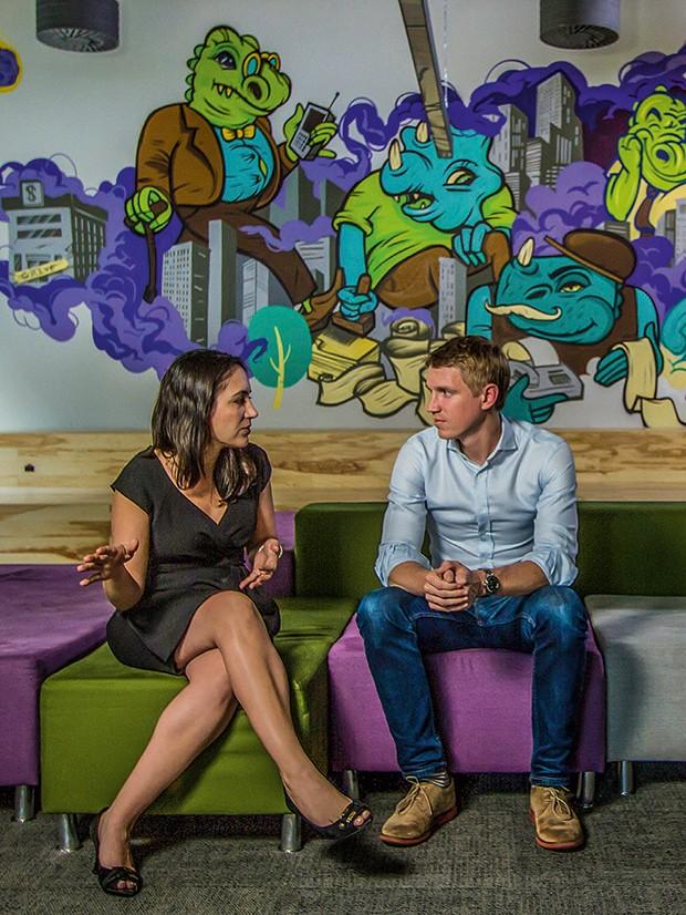 Empresa;Nubank;Cris e Ed (Foto: Rogério Albuquerque)