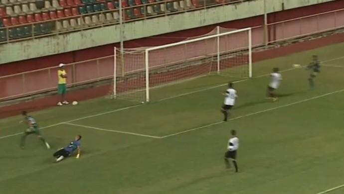 Jô gol perdido Alto Acre (Foto: Reprodução/Rede Amazônica Acre)