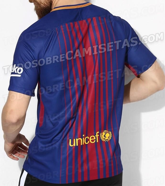 Nova camisa Barcelona 2017/2018