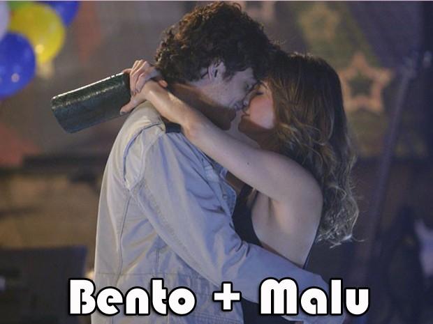 Bento e Malu? (Foto: Sangue Bom/TV Globo)