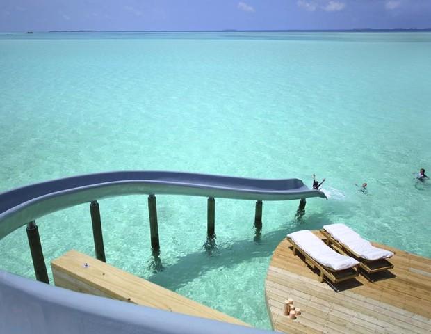 Soneva Javi, o resort no meio do oceano Ìndico (Foto: reprodução)