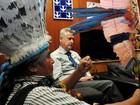 Índios pedem terreno a Rollemberg para 'abrigo' durante atos contra PEC