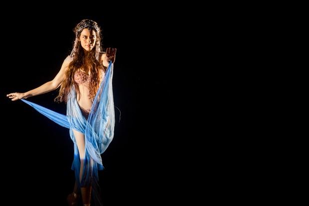 Luisa Micheletti sobre cena de dança em 'Mundo Novo': '4 meses de ensaio' (Foto: TV Globo/Divulgação)