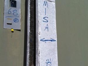Símbolos crime (Foto: Danila Torres/ Arquivo pessoal)