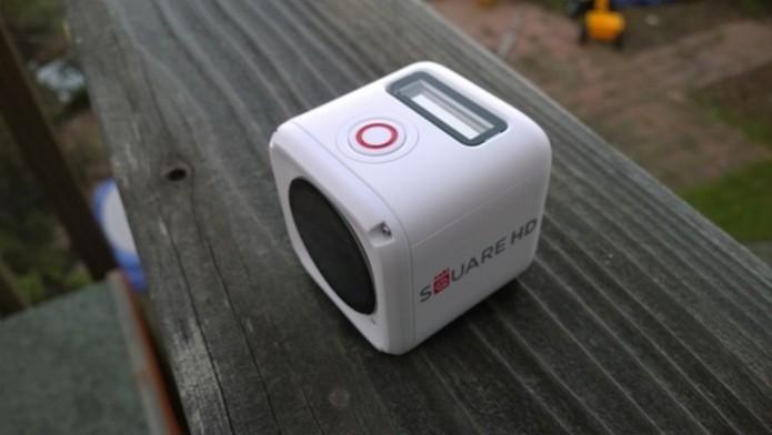 Nabi Square HD é a primeira câmera de ação pensada para crianças (Foto: Reprodução/Mark Hachman)