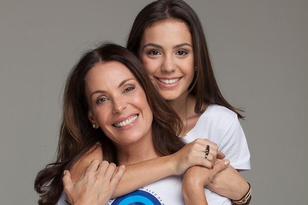Carolina Ferraz e Valentina (Foto: Divulgação)